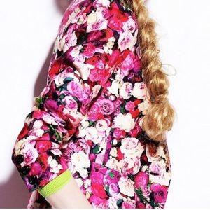 Kate Spade Millie Rose Print Blazer